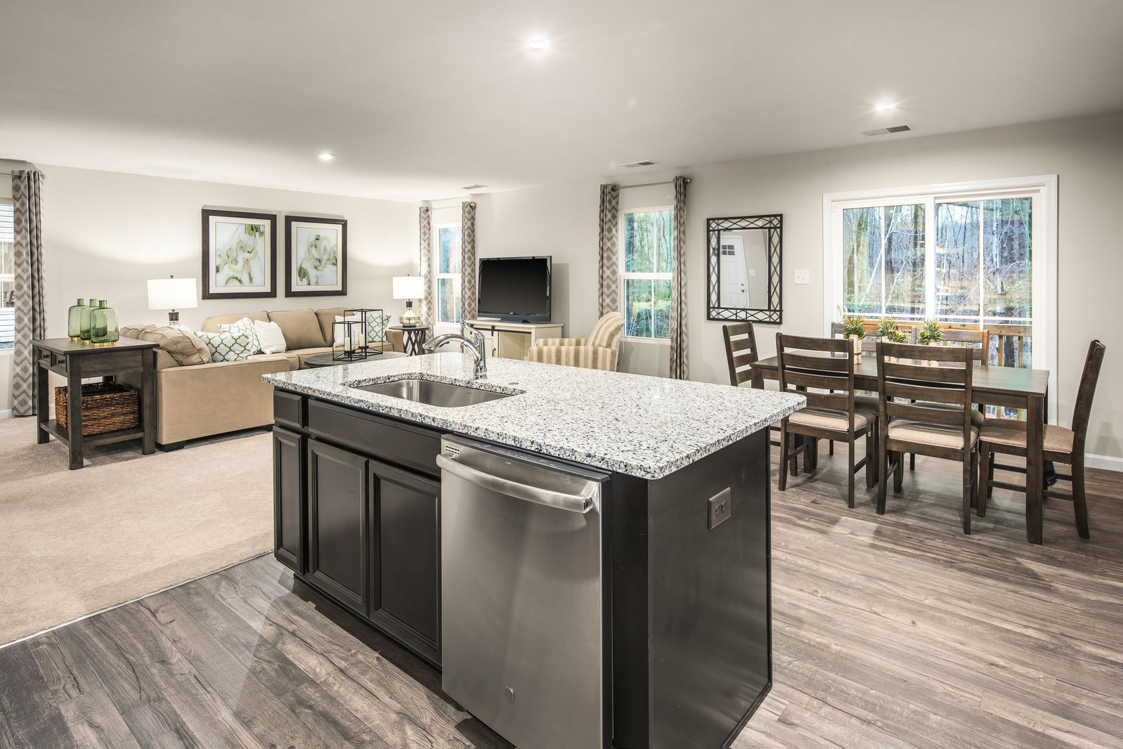 Living Area featured in the Lily By Ryan Homes in Columbus, OH