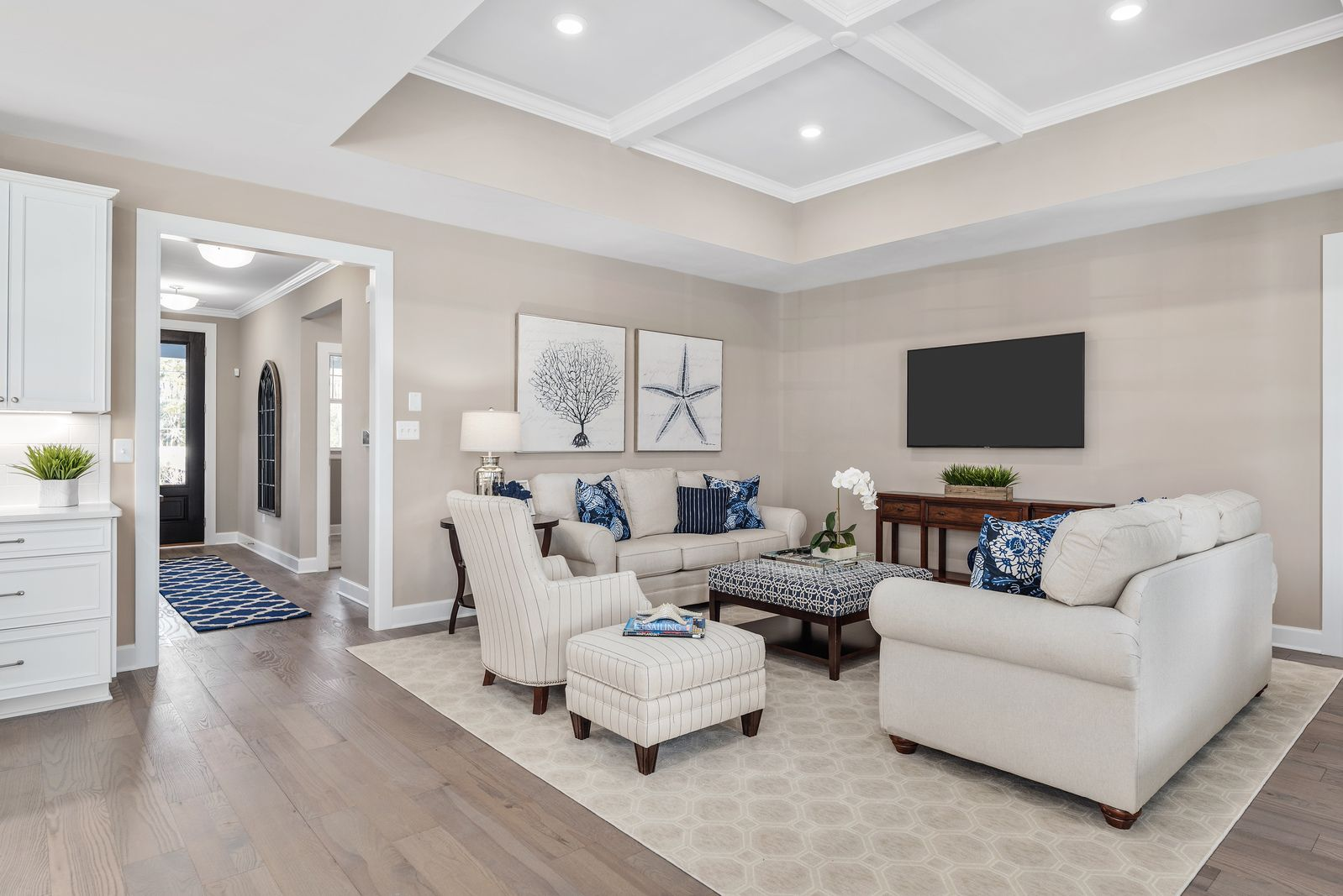 Living Area featured in the Edgewood By NVHomes in Sussex, DE