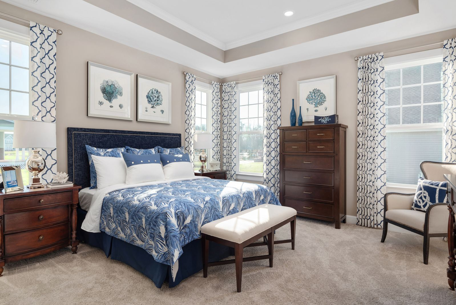 Bedroom featured in the Edgewood By NVHomes in Sussex, DE