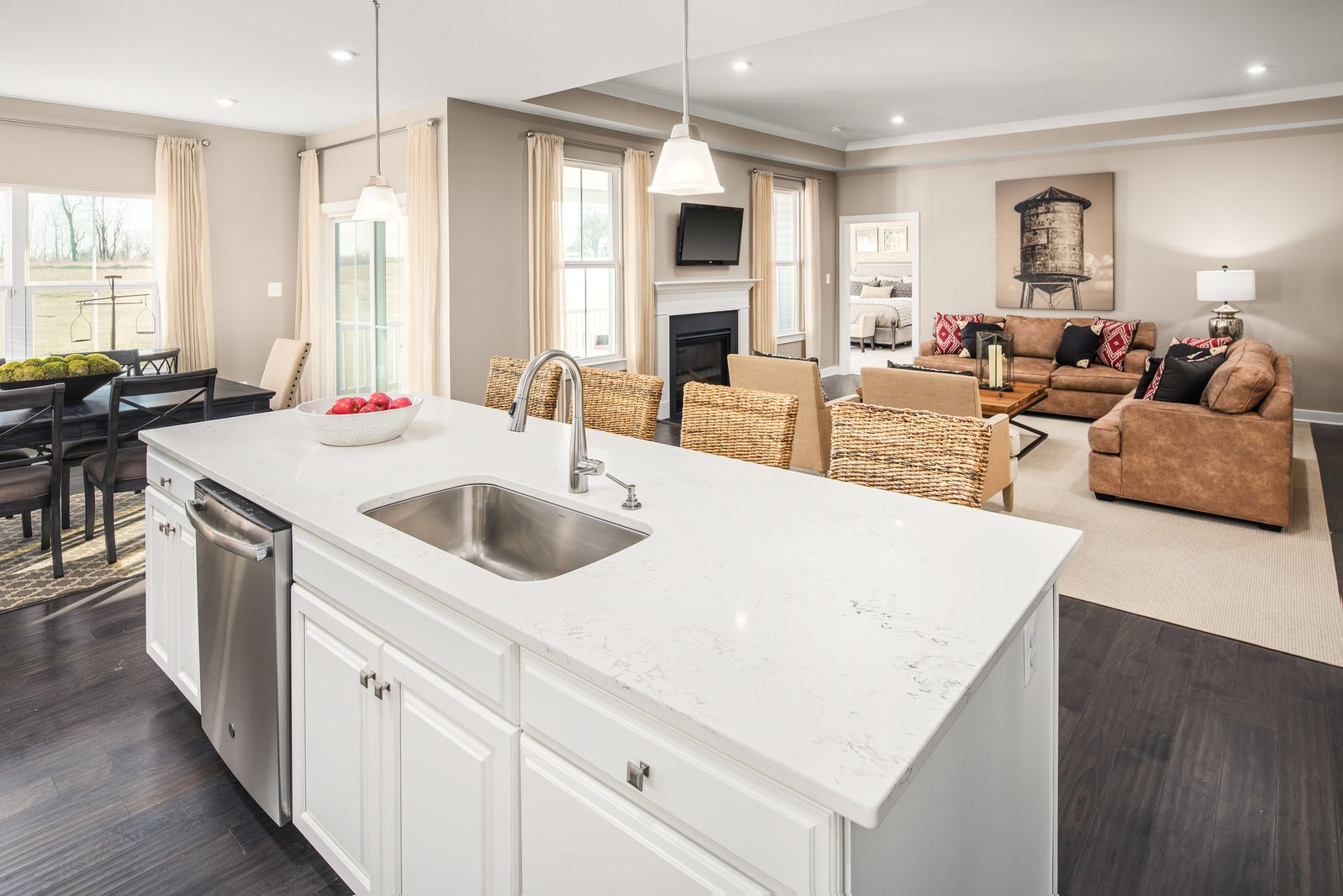 Living Area featured in the Savannah Ranch By Ryan Homes in Sussex, DE