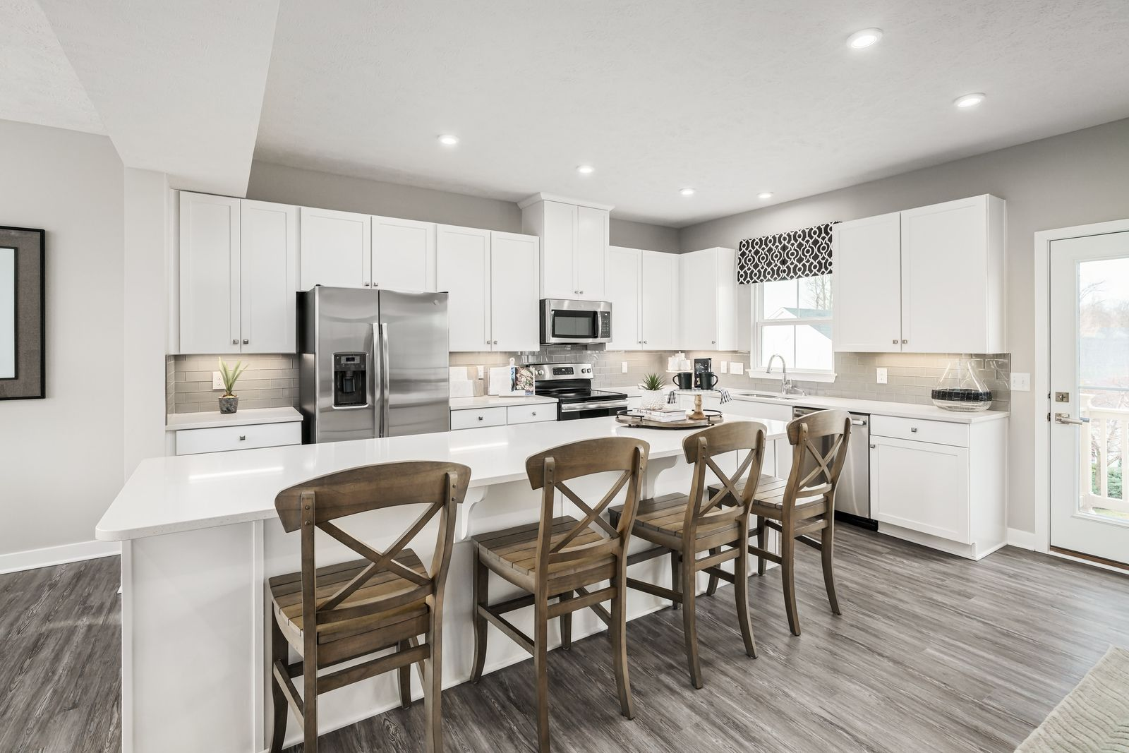Kitchen featured in the Wexford w/ 4' Extension & Rec Rm By Ryan Homes in Akron, OH