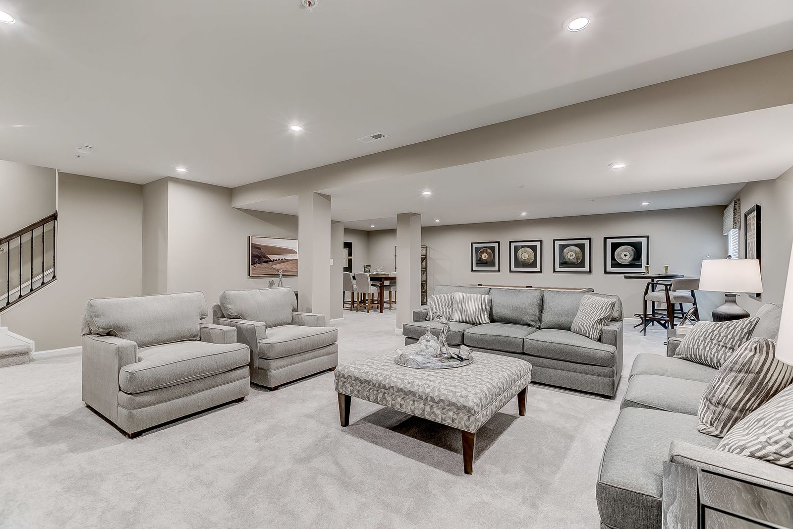 Living Area featured in the Saint Lawrence By Ryan Homes in Philadelphia, PA