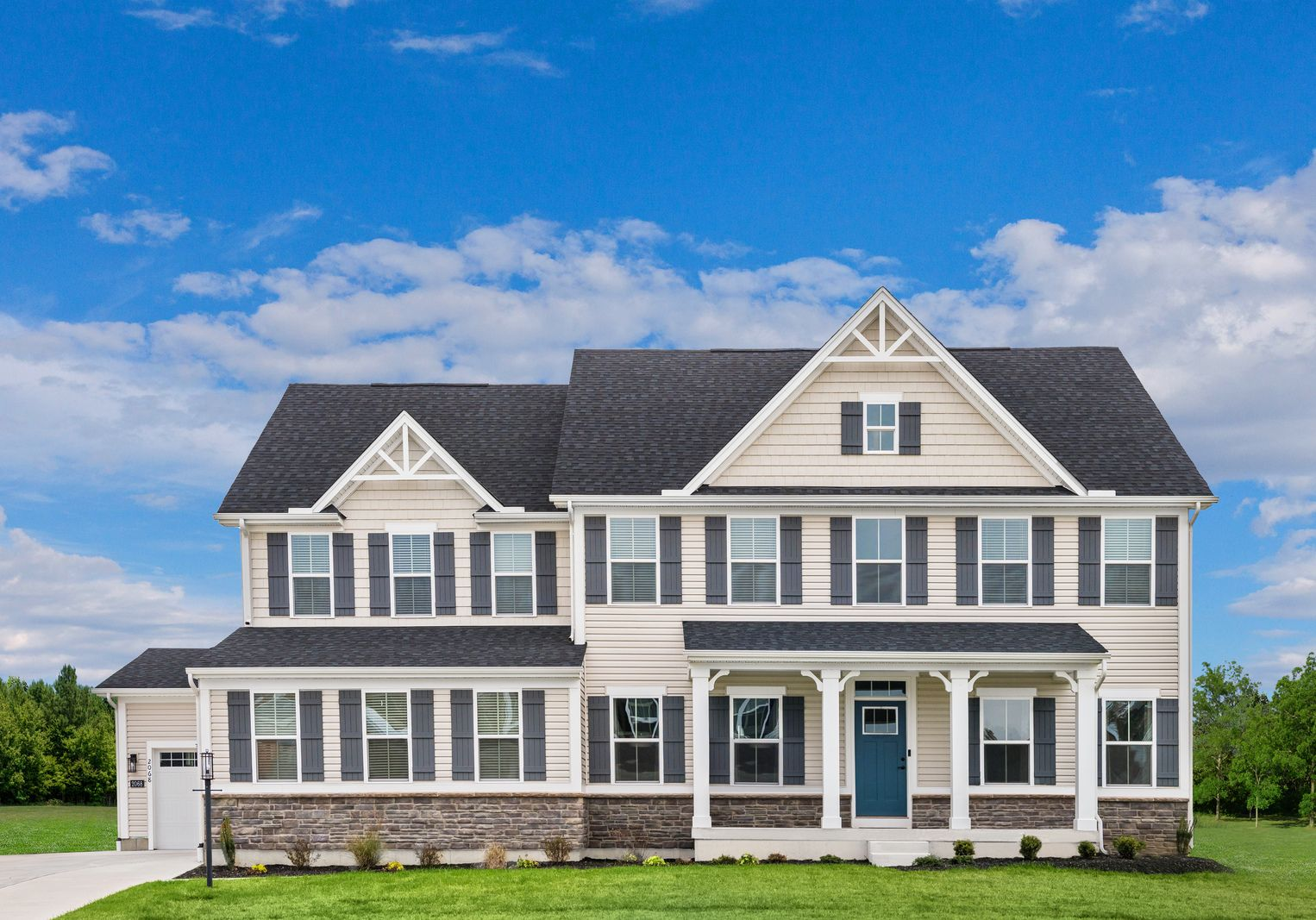 Exterior featured in the Normandy By Ryan Homes in Washington, MD