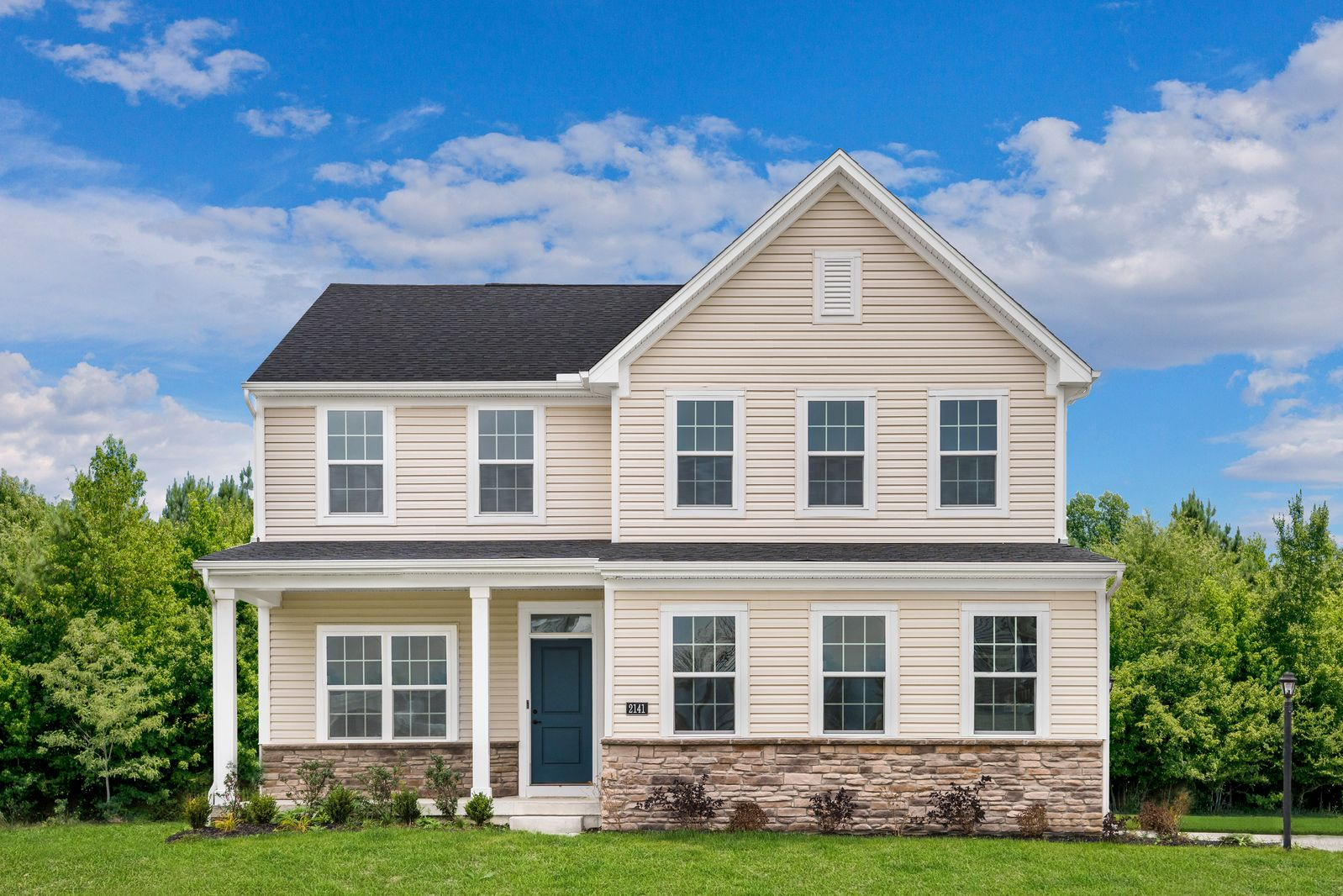 Exterior featured in the Columbia By Ryan Homes in Philadelphia, PA