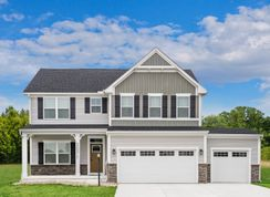 Hudson 3 Car Garage - Two Rivers - All Ages Single Family Homes: Odenton, District Of Columbia - Ryan Homes