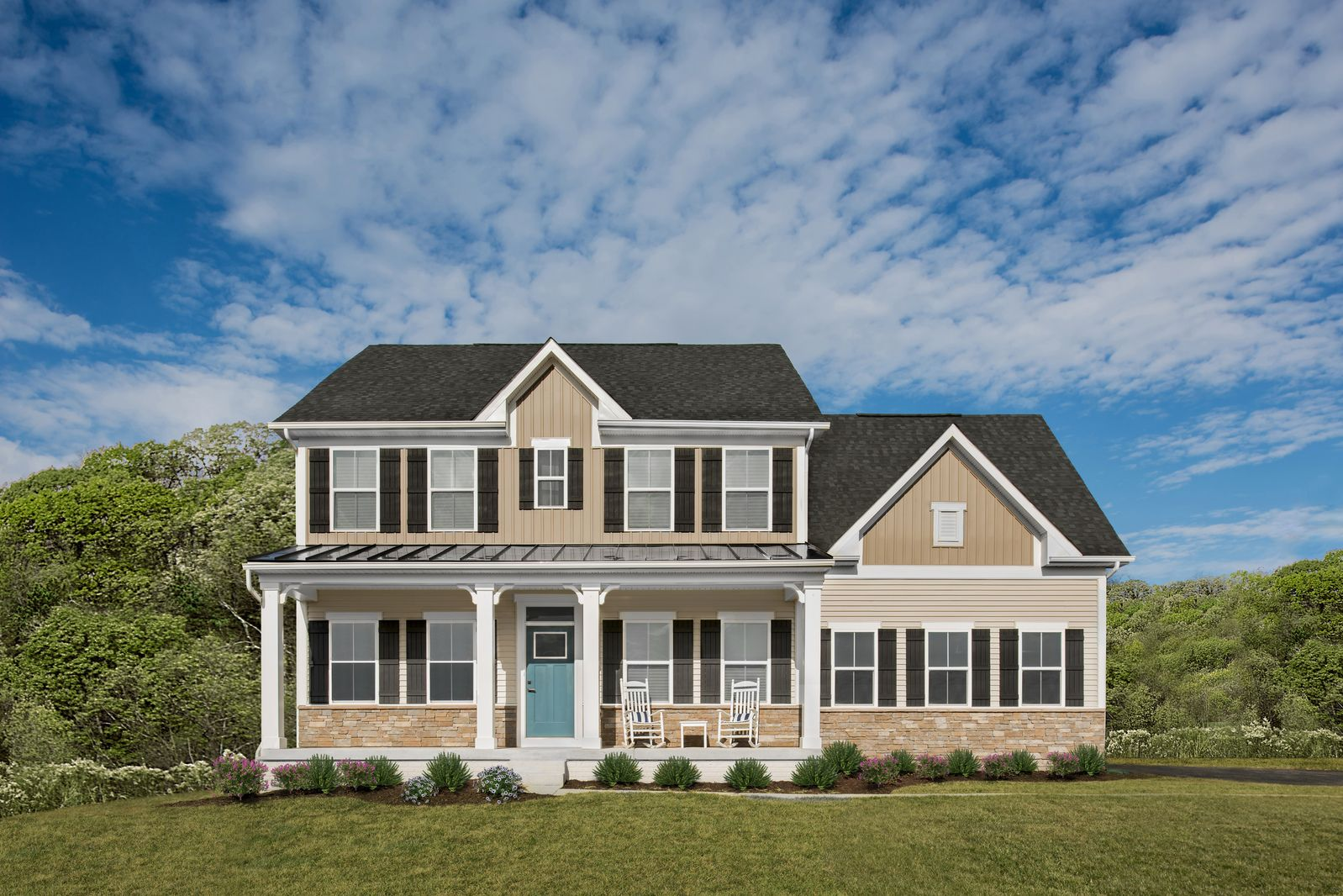 Exterior featured in the Powell By Ryan Homes in Sussex, DE