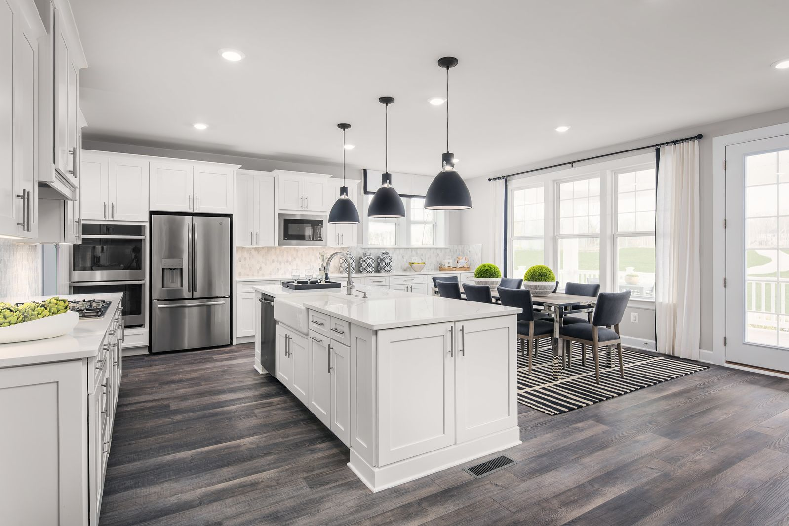 Kitchen featured in the Stratford Hall By NVHomes in Washington, MD