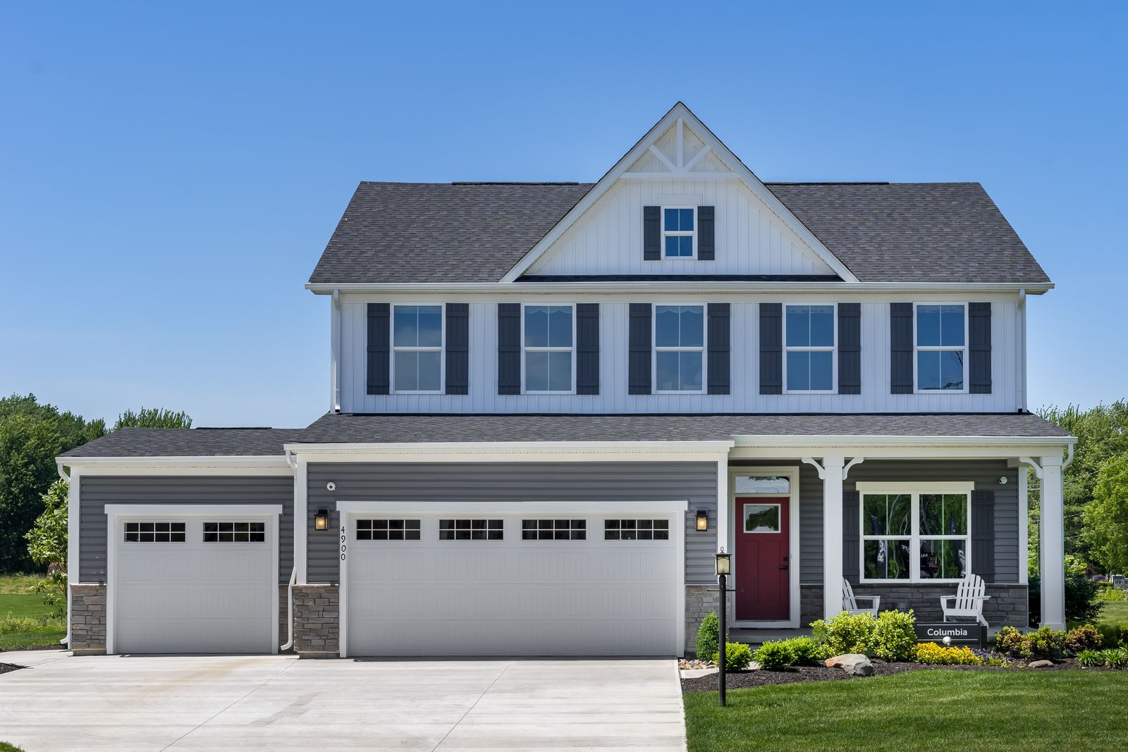 Exterior featured in the Columbia By Ryan Homes in Pittsburgh, PA