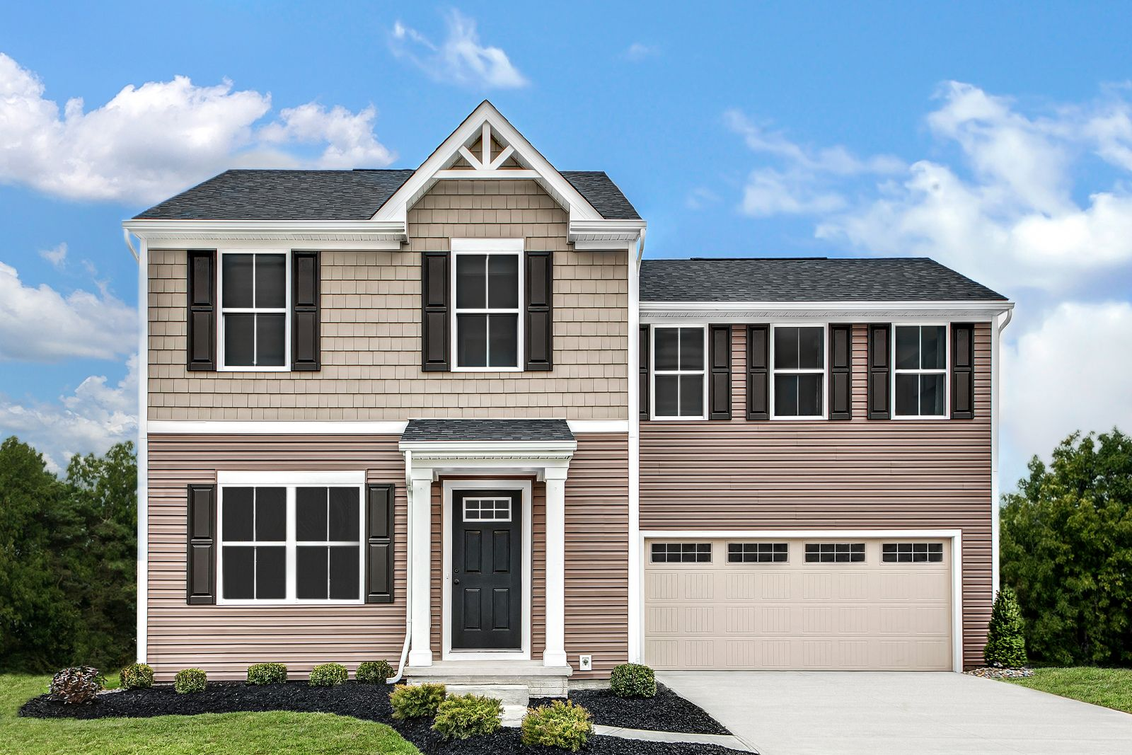 Exterior featured in the Birch By Ryan Homes in Raleigh-Durham-Chapel Hill, NC