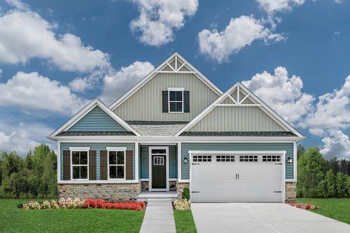 Briar Oaks by Ryan Homes in Greenville-Spartanburg South Carolina