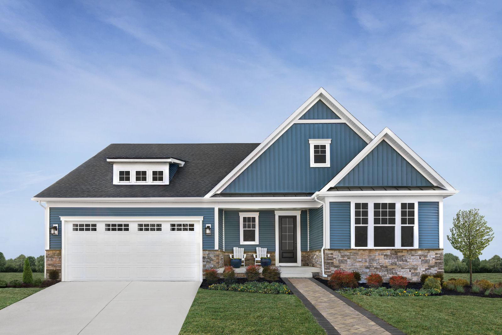 Exterior featured in the Edgewood By NVHomes in Sussex, DE