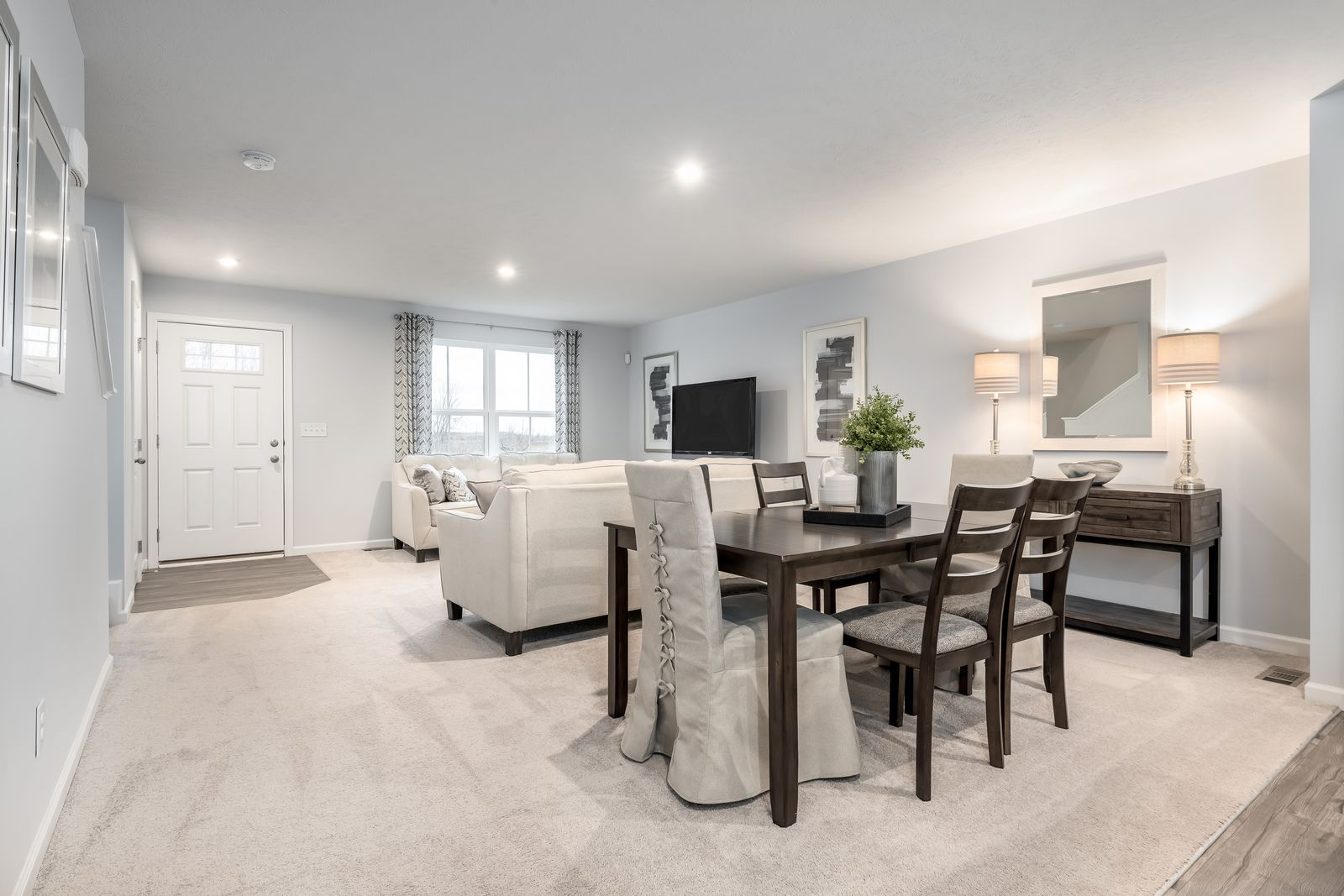 Living Area featured in the Birch By Ryan Homes in Cleveland, OH