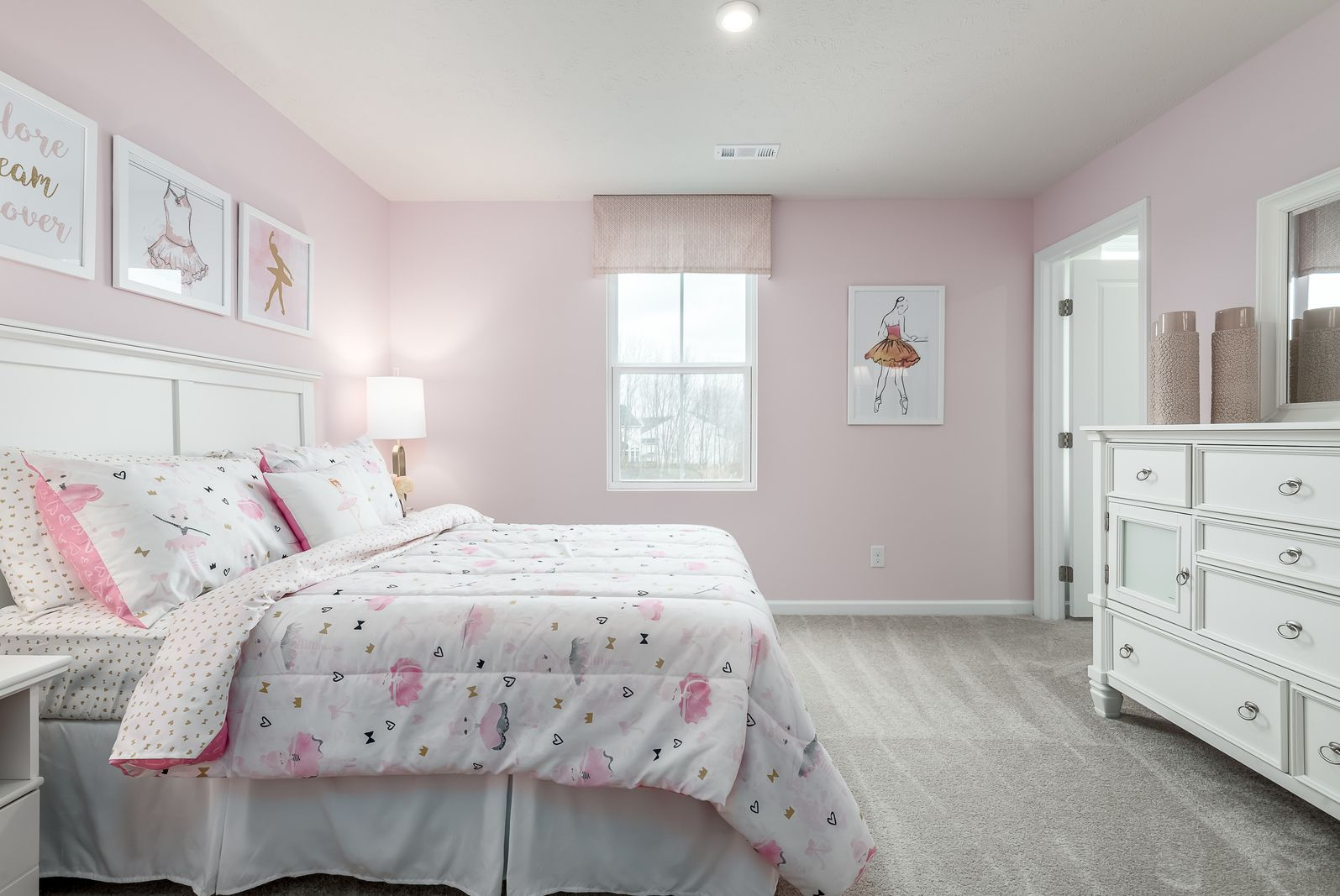 Bedroom featured in the Birch By Ryan Homes in Cleveland, OH