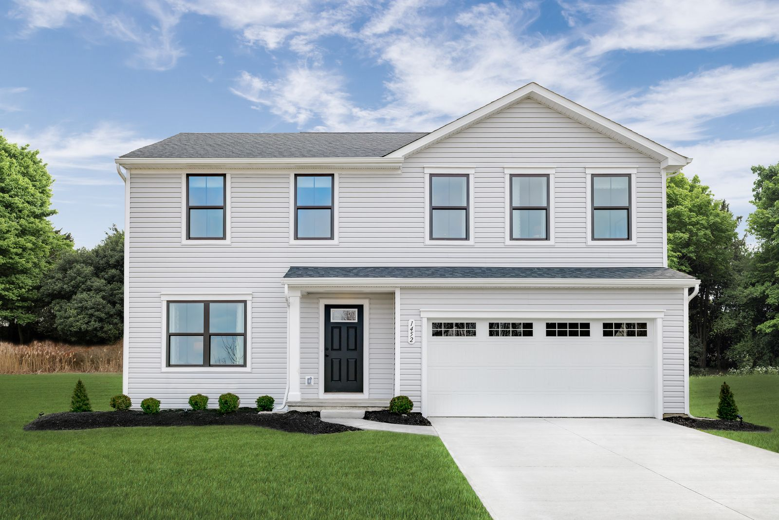 Exterior featured in the Cedar By Ryan Homes in Indianapolis, IN