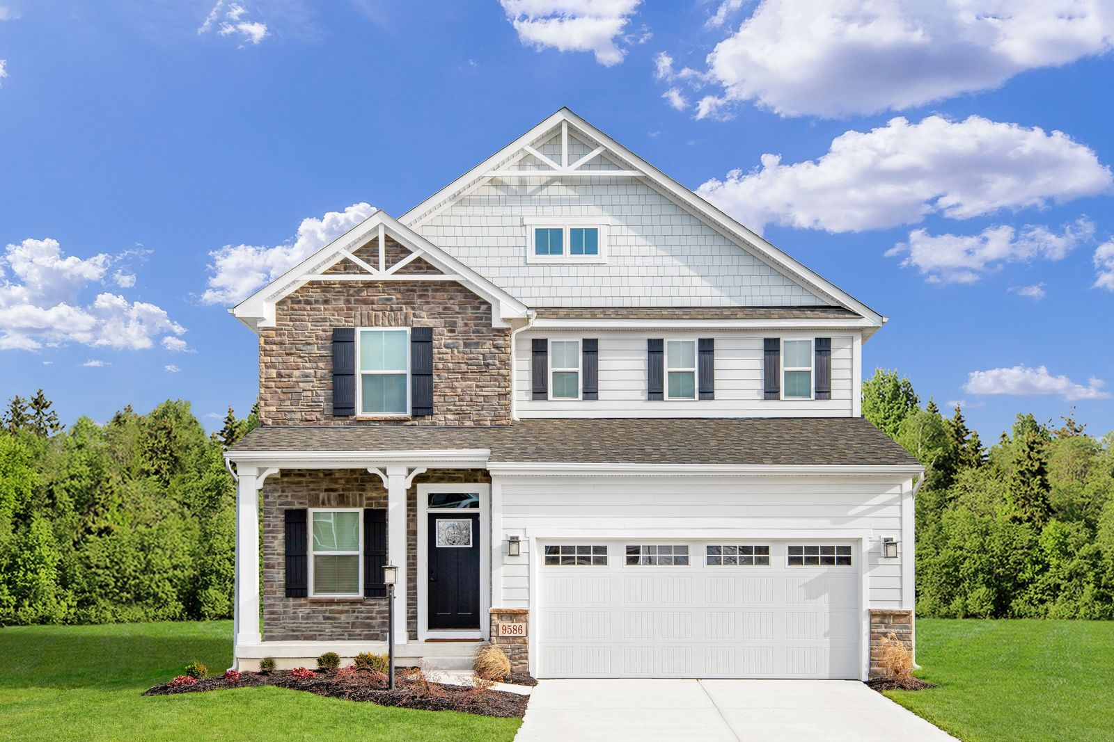 Exterior featured in the Allegheny By Ryan Homes in Ocean City, MD