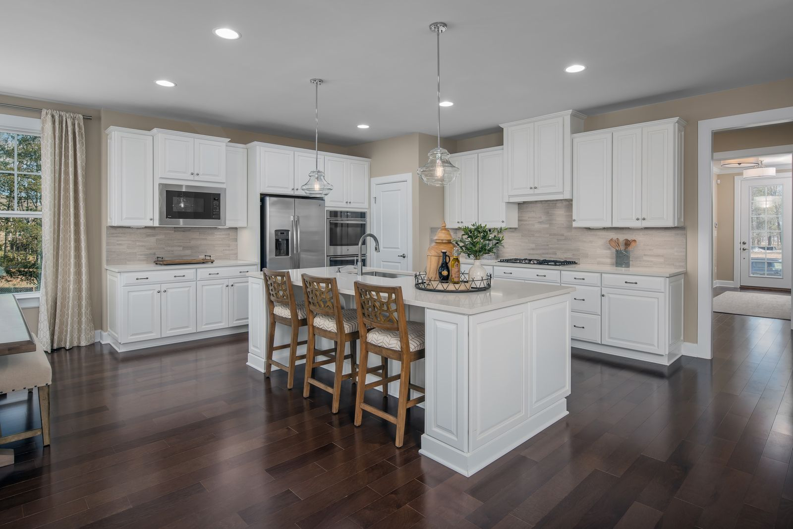 Kitchen featured in the Danville By NVHomes in Washington, MD