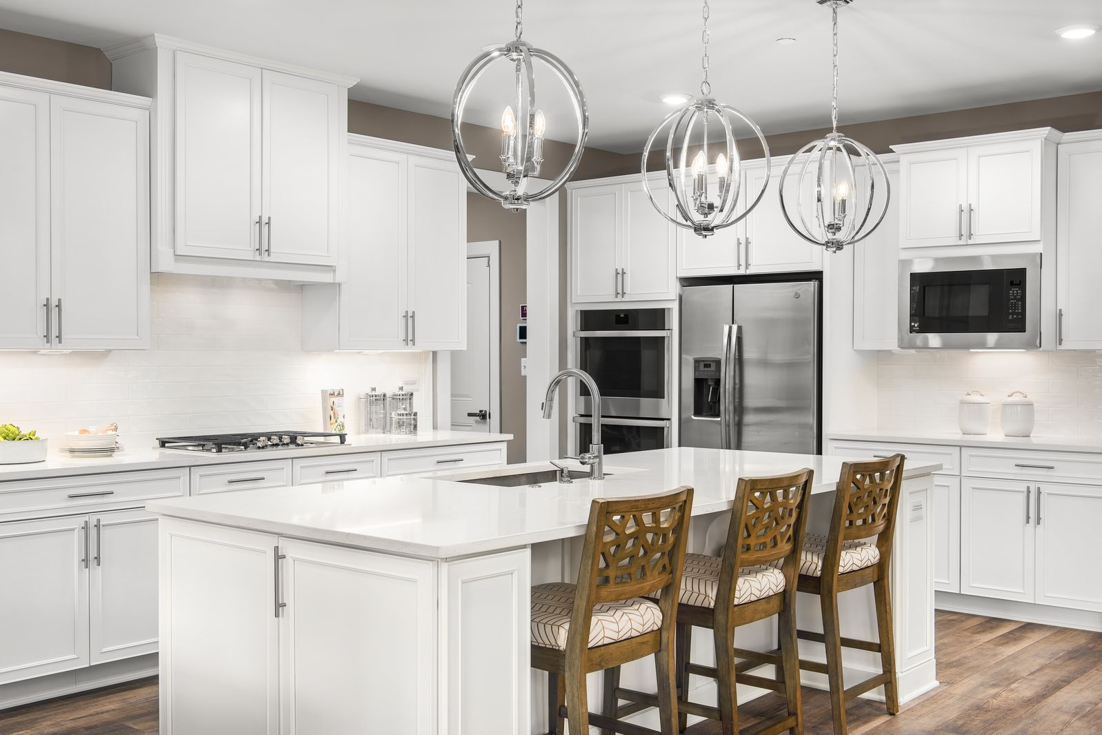 Kitchen featured in the Longwood By NVHomes in Washington, MD
