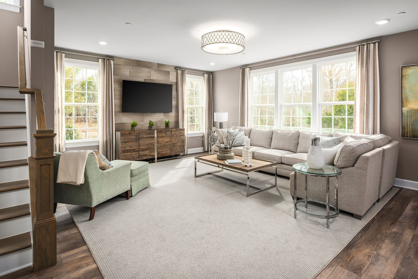 Living Area featured in the Longwood By NVHomes in Washington, MD