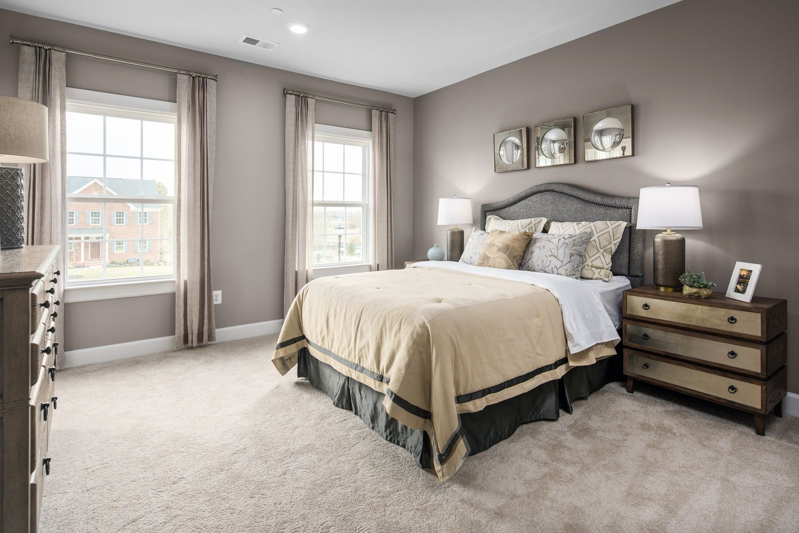 Bedroom featured in the Longwood By NVHomes in Baltimore, MD