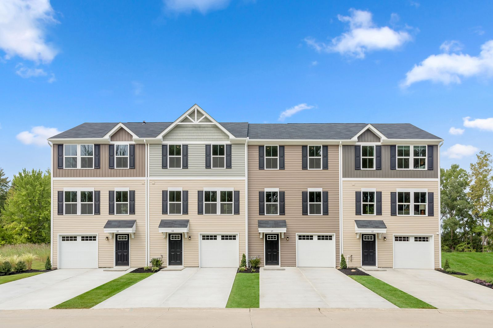 Exterior featured in the Juniper By Ryan Homes in Greenville-Spartanburg, SC