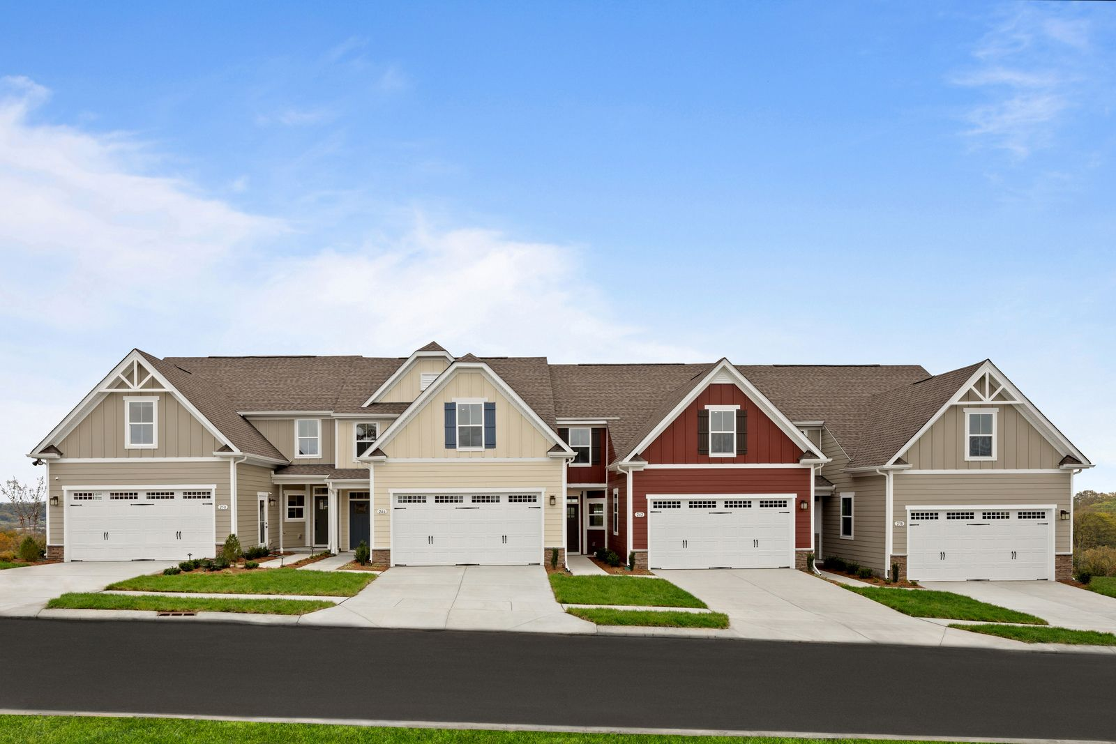 Exterior featured in the Calvert By Ryan Homes in Akron, OH