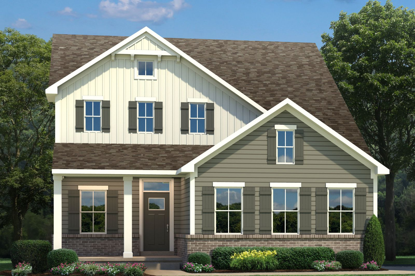 Exterior featured in the Ballenger By Ryan Homes in Pittsburgh, PA