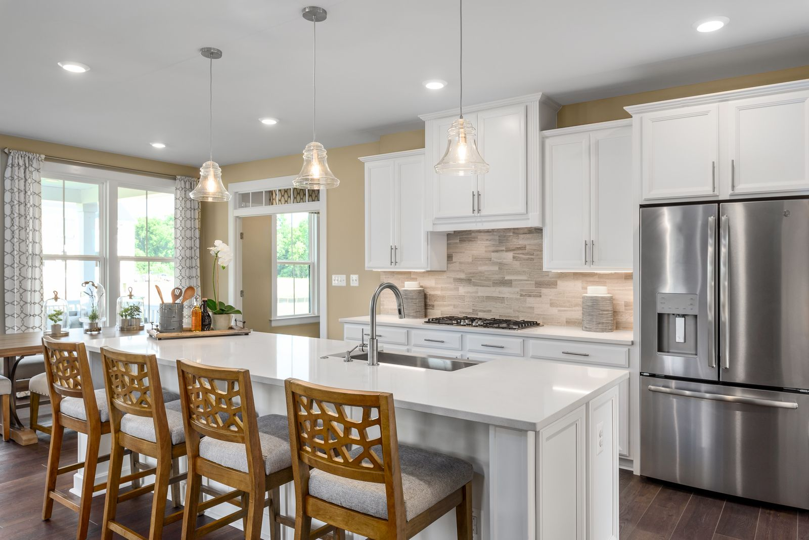 Kitchen featured in the Liberty By NVHomes in Philadelphia, PA