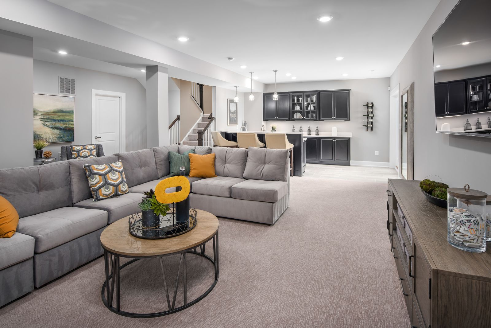Living Area featured in the Liberty By NVHomes in Philadelphia, PA