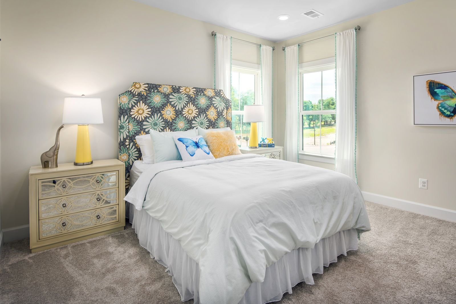 Bedroom featured in the Liberty By NVHomes in Philadelphia, PA