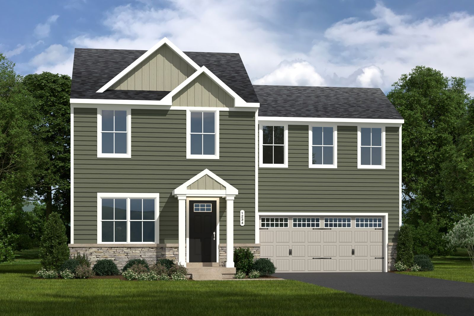 Exterior featured in the Birch By Ryan Homes in Cleveland, OH