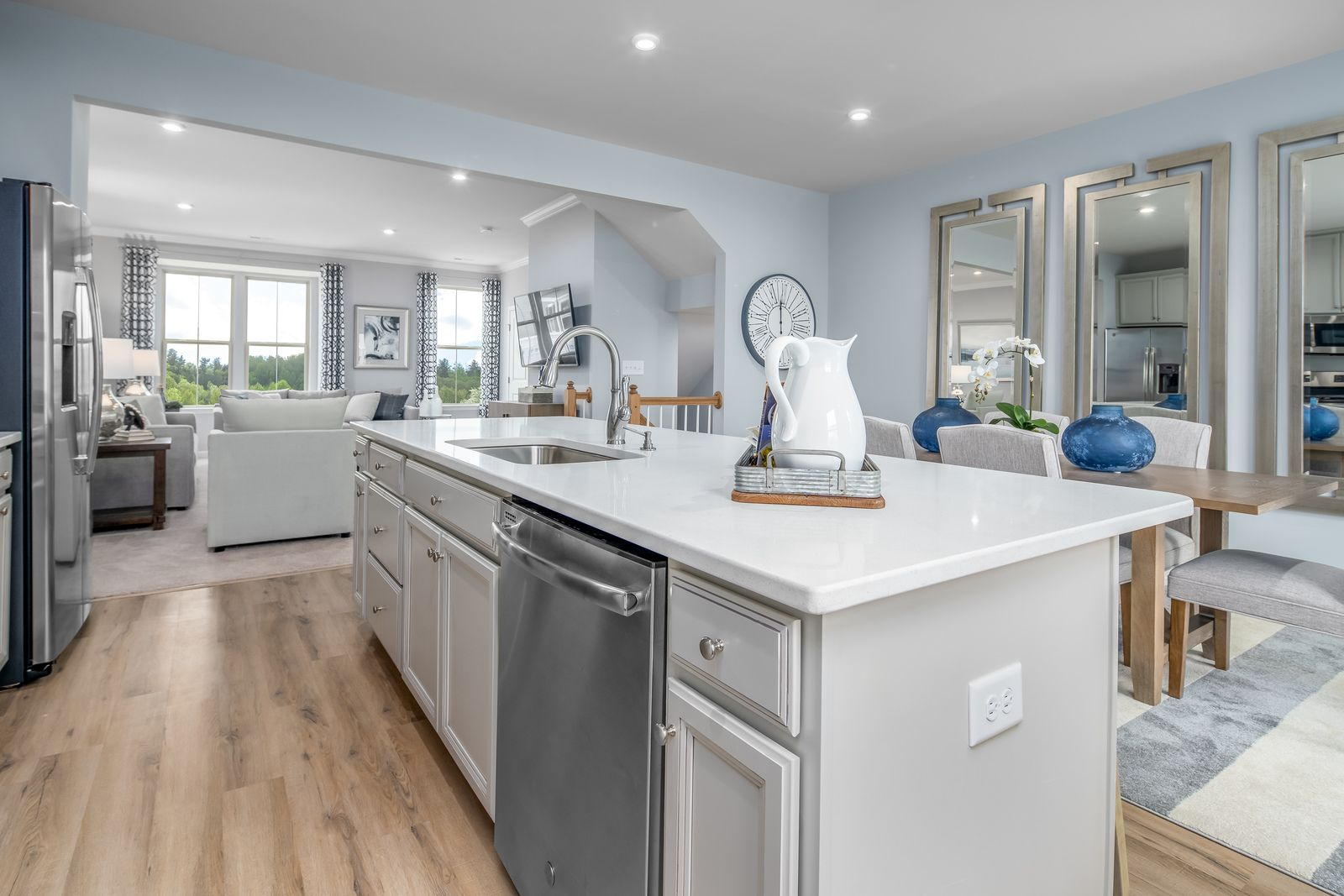 Kitchen featured in the Mozart By Ryan Homes in Pittsburgh, PA
