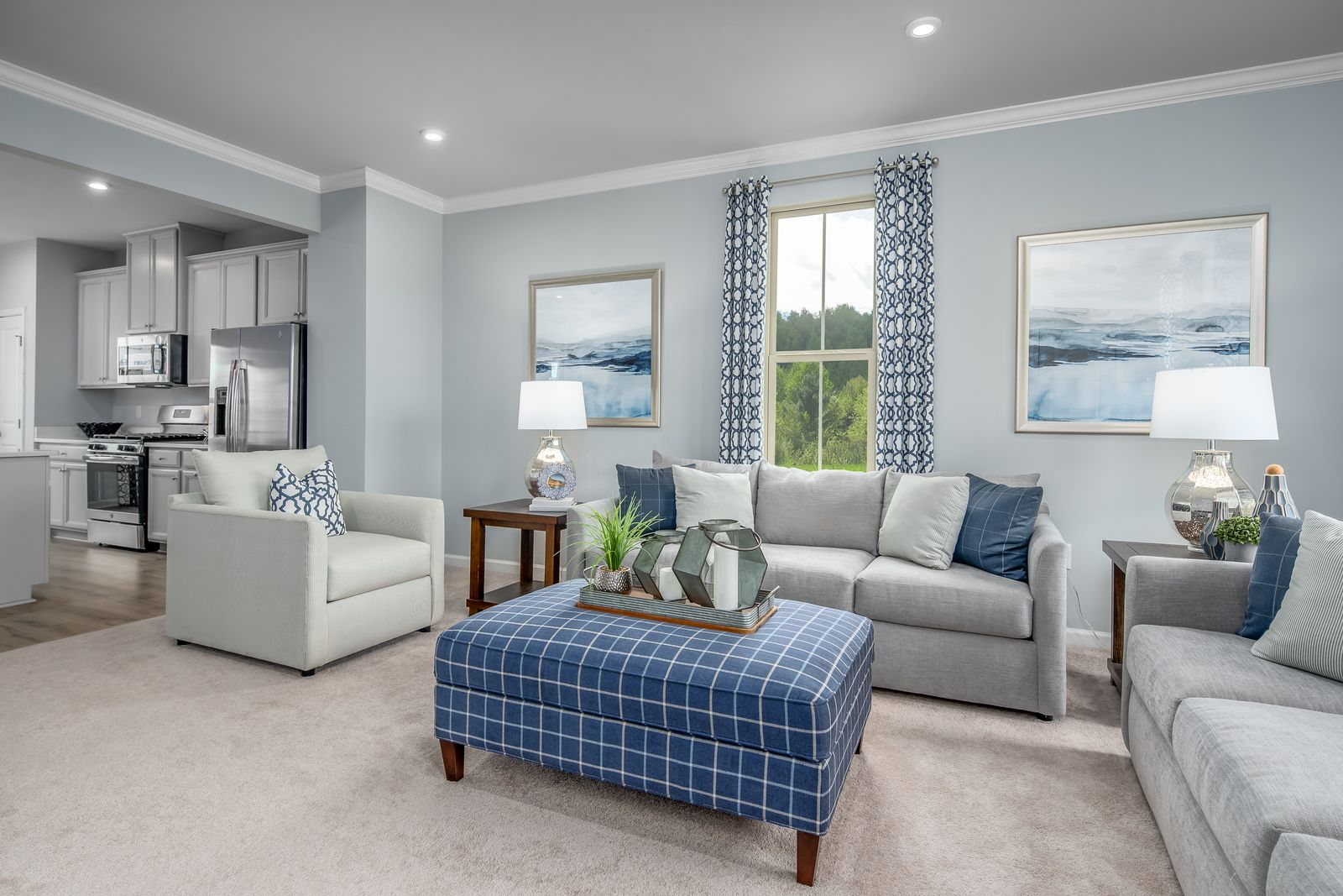 Living Area featured in the Mozart By Ryan Homes in Pittsburgh, PA
