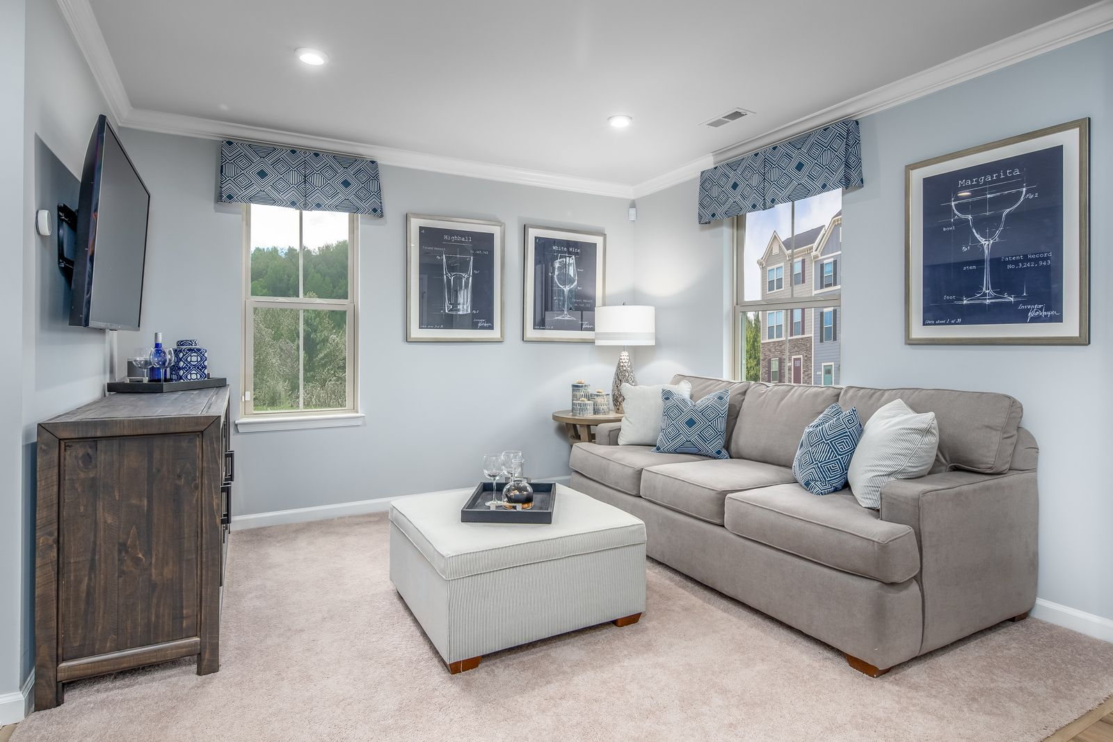Living Area featured in the Mozart 2-Car Garage By Ryan Homes in Baltimore, MD