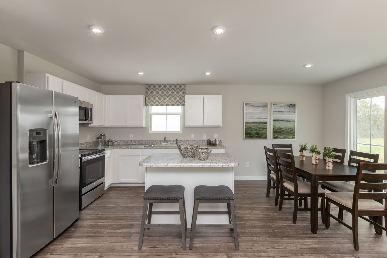 Kitchen featured in the Spruce By Ryan Homes in Dayton-Springfield, OH