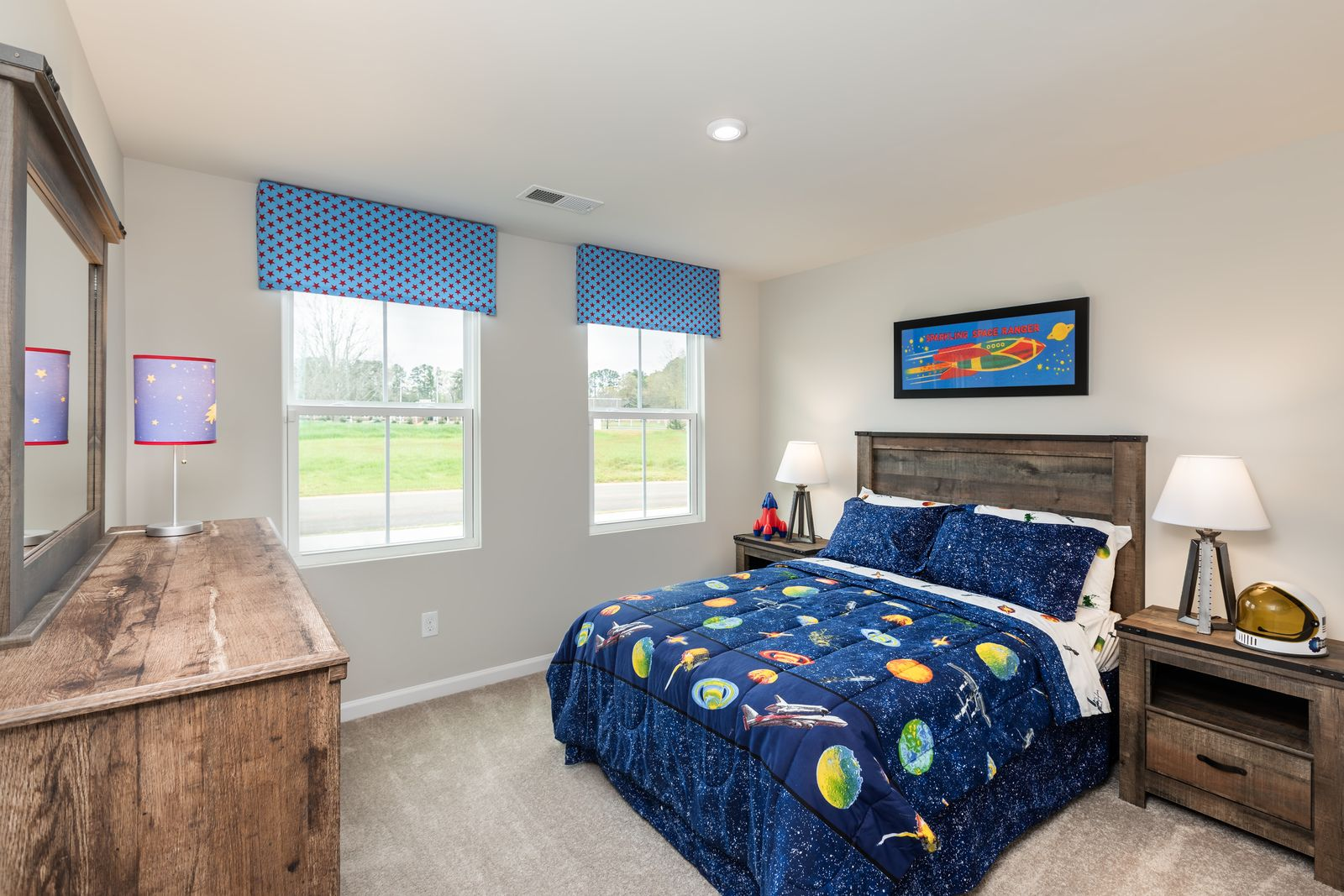 Bedroom featured in the Spruce w/ Included Basement By Ryan Homes in Cincinnati, OH