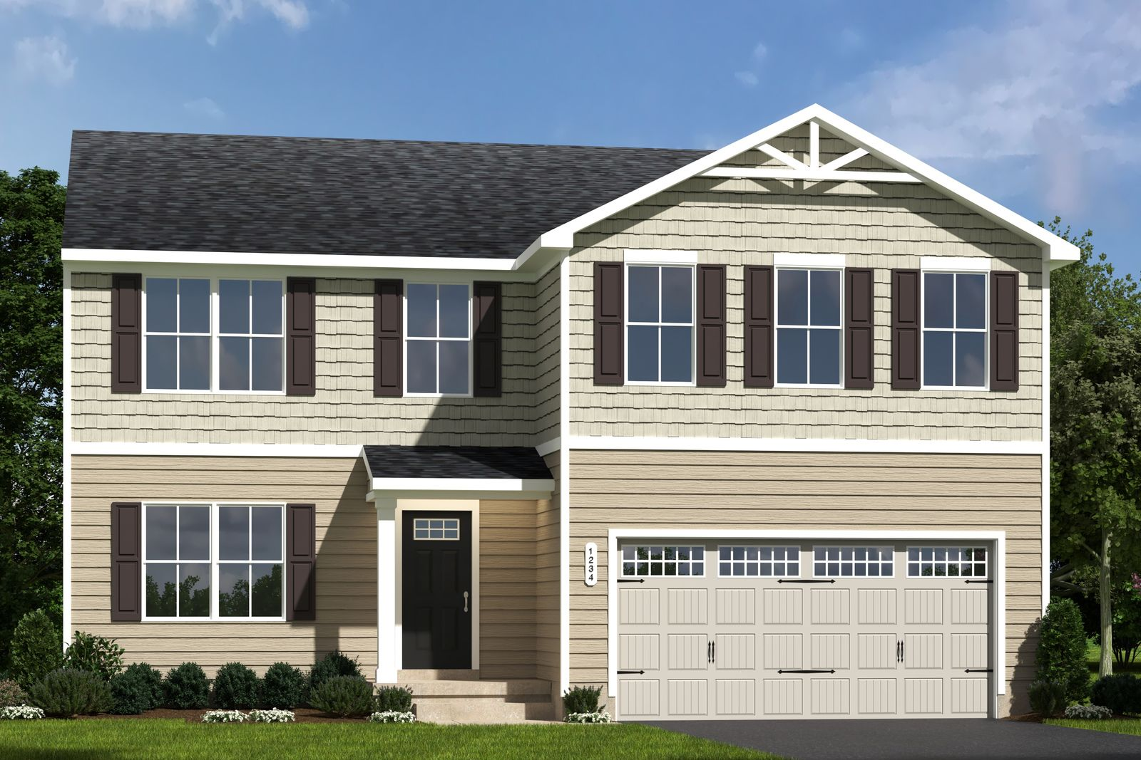 Exterior featured in the Elm By Ryan Homes in Wilmington-Newark, MD