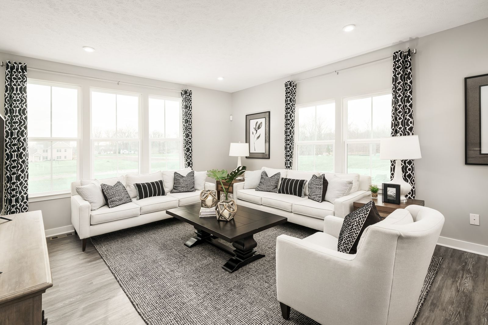 Living Area featured in the Wexford By Ryan Homes in Akron, OH