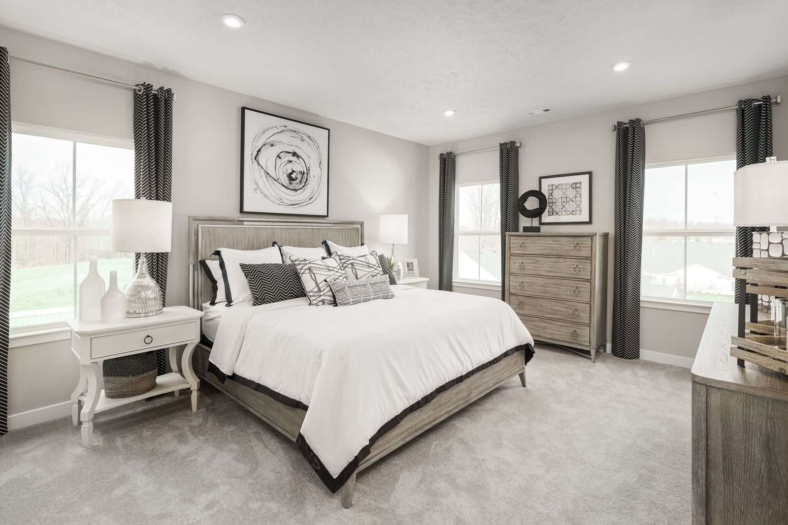Bedroom featured in the Wexford Rear Garage By Ryan Homes in Akron, OH