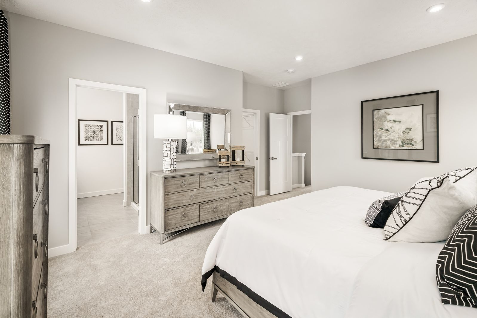 Bedroom featured in the Wexford w/ 4' Extension & Rec Rm By Ryan Homes in Akron, OH