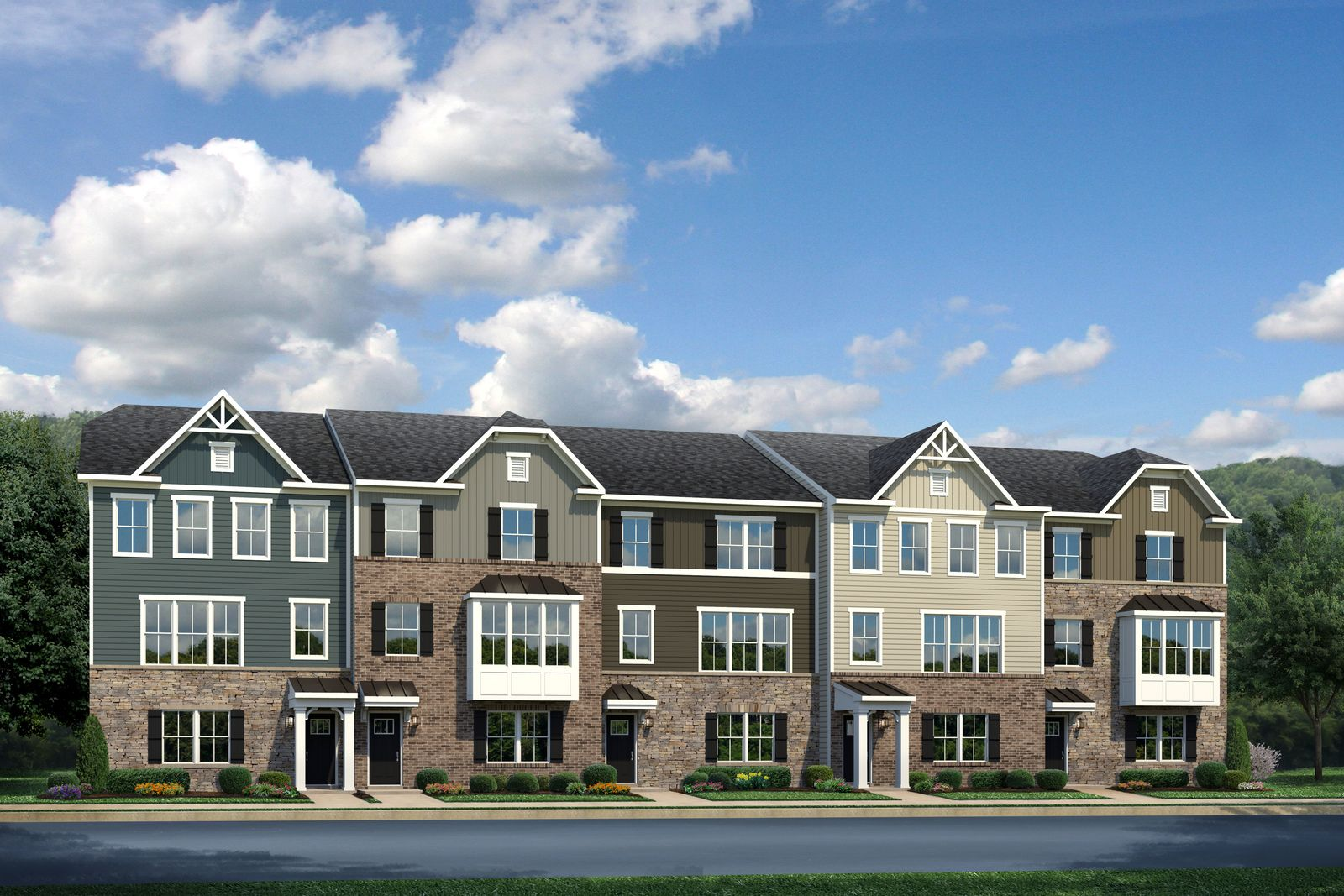 Exterior featured in the Wexford By Ryan Homes in Cleveland, OH