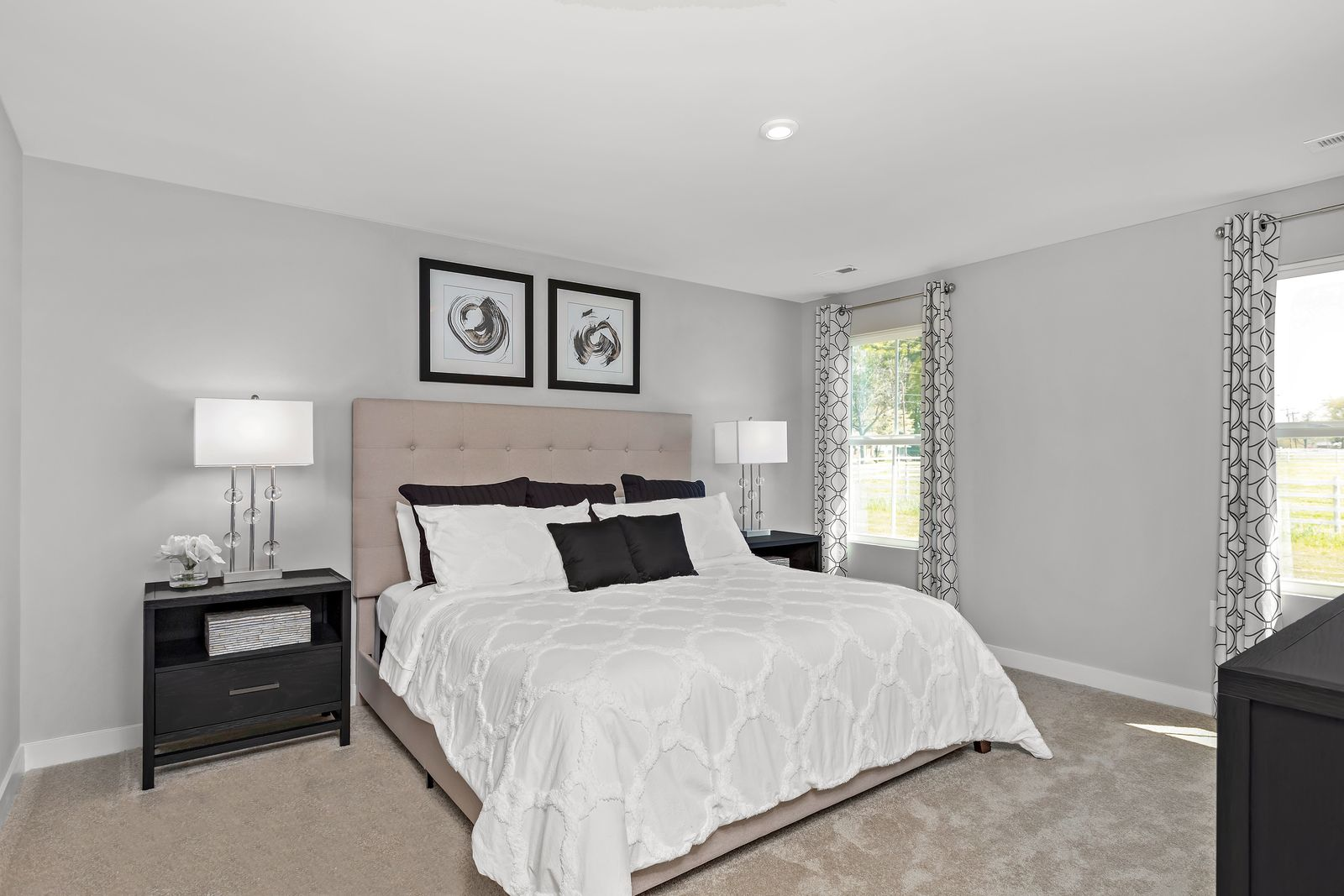 Bedroom featured in the Cayman By Ryan Homes in Cleveland, OH