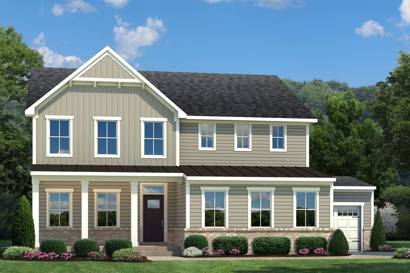 Exterior featured in the Lehigh w Full Basement By Ryan Homes in Indianapolis, IN