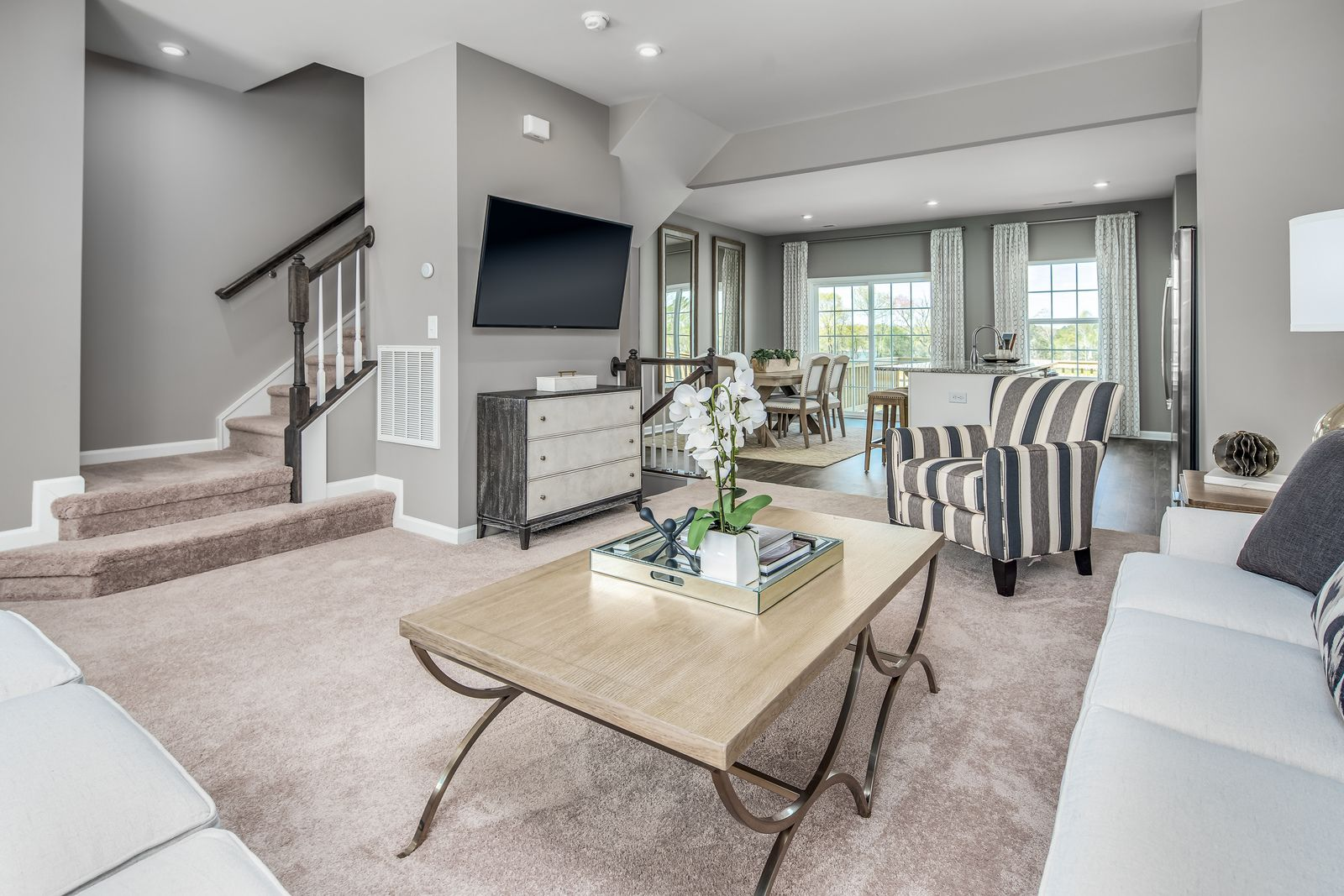 Living Area featured in the Mozart D By Ryan Homes in Cincinnati, OH