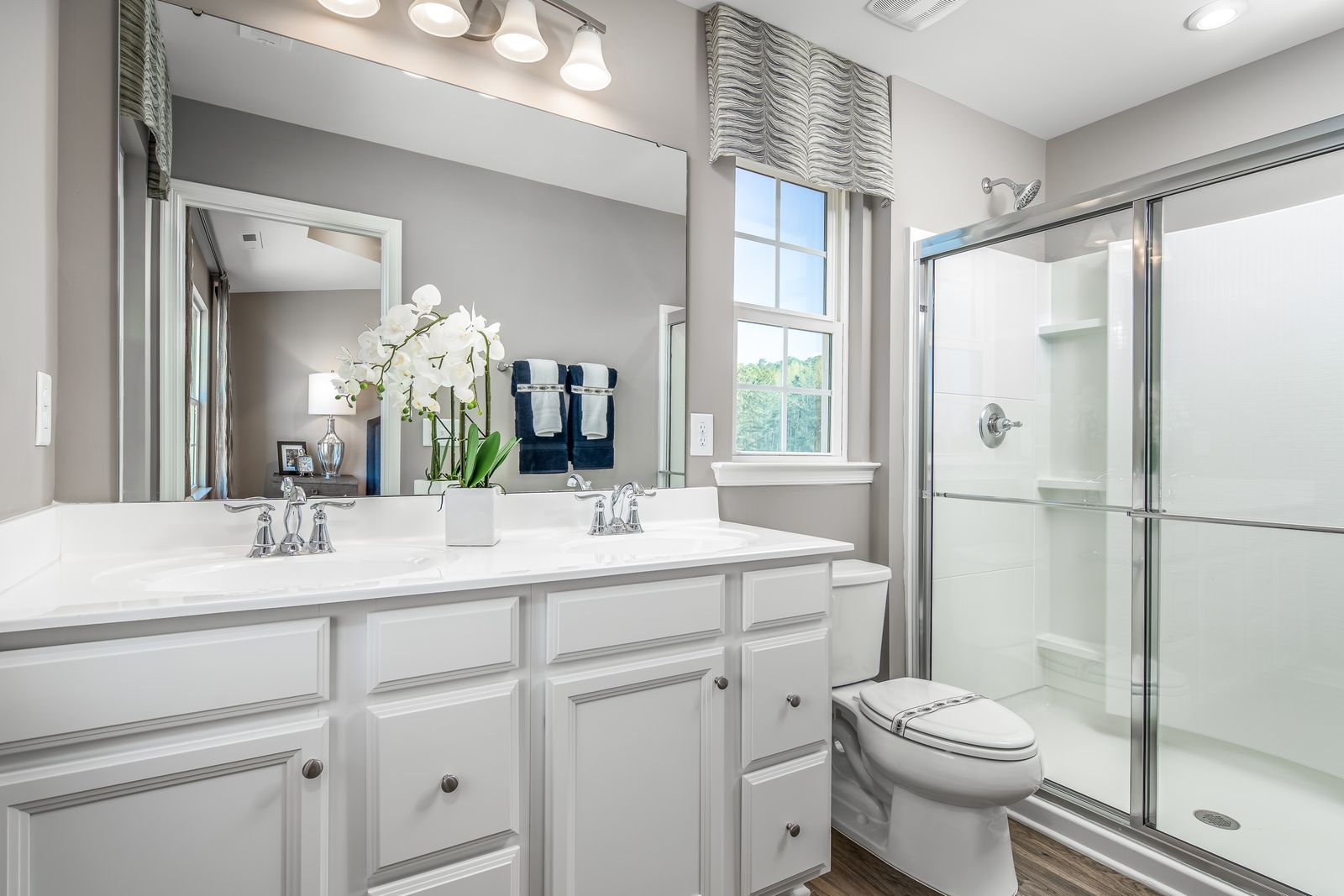 Bathroom featured in the Mozart By Ryan Homes in Philadelphia, NJ