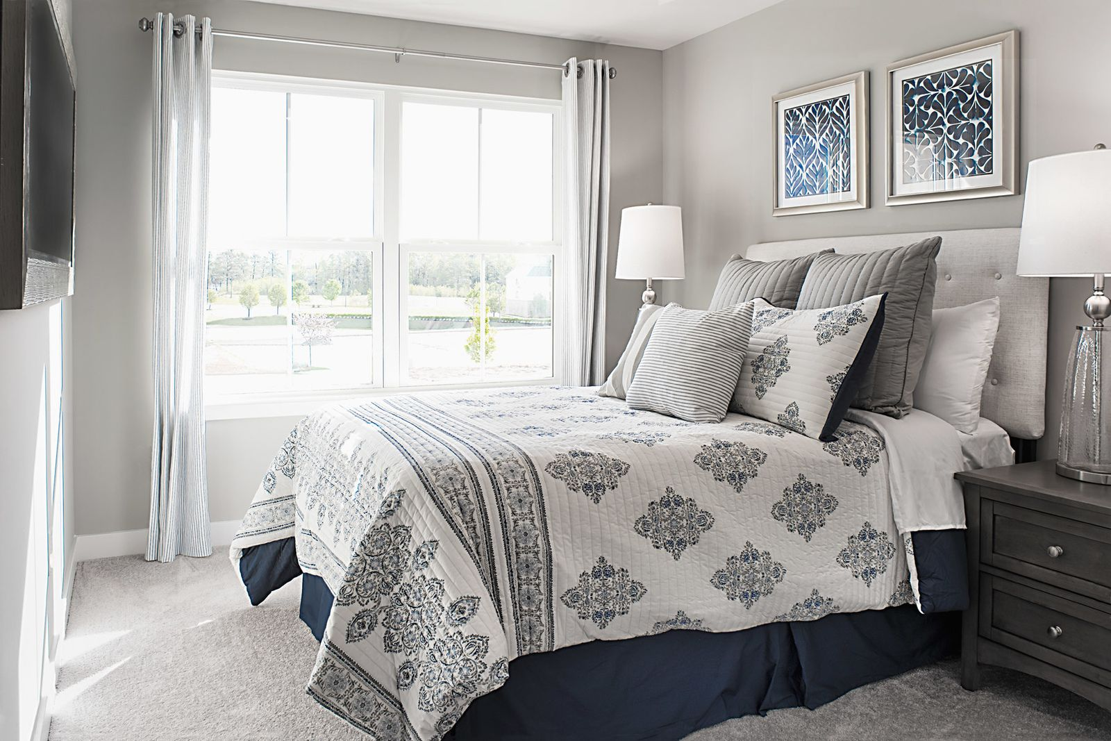 Bedroom featured in the Odessa By Ryan Homes in Richmond-Petersburg, VA