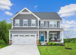 Hudson w/ Finished Lower Level - Carriage Trails 2-Story: Tipp City, Ohio - Ryan Homes