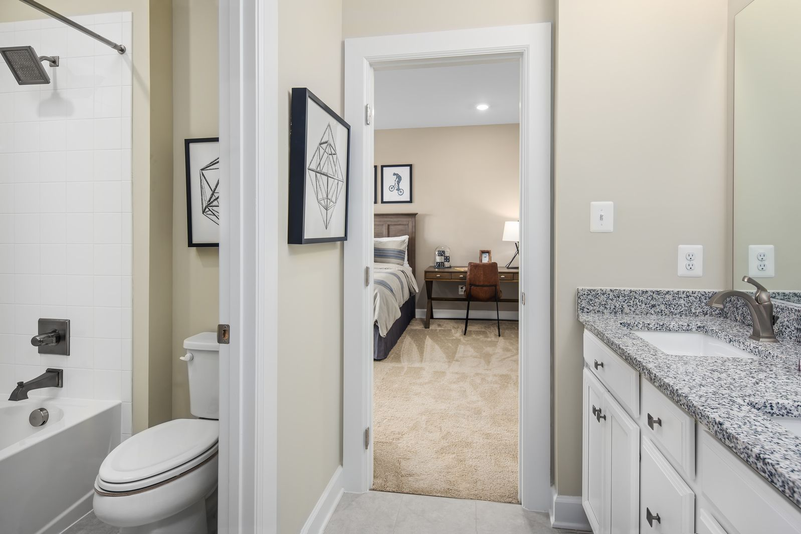 Bathroom featured in the Longwood By NVHomes in Washington, MD