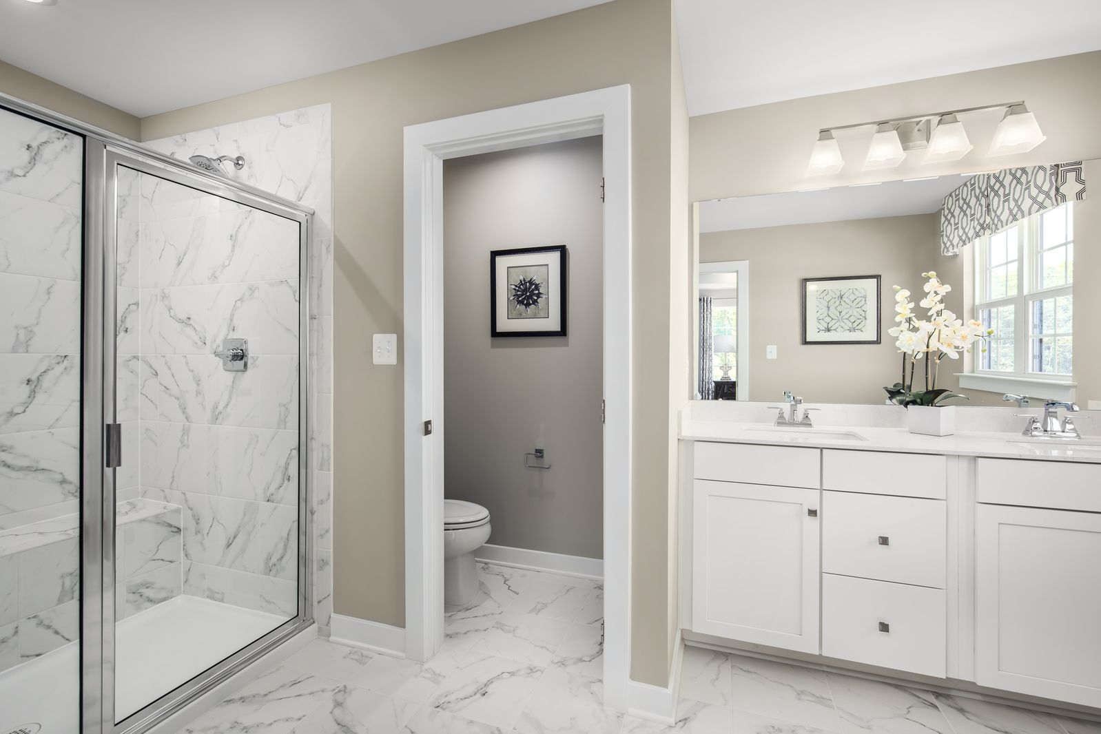 Bathroom featured in the Columbia By Ryan Homes in Sussex County, NJ