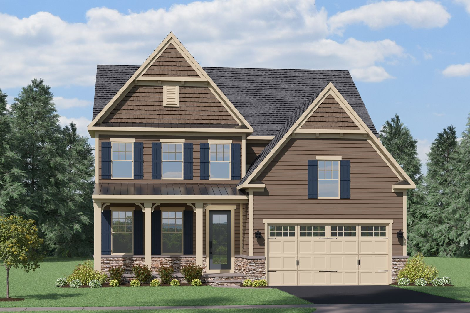 Exterior featured in the Danville By NVHomes in Washington, MD
