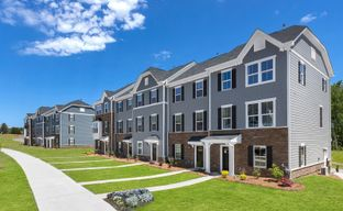Riverbend Townhomes by Ryan Homes in Charlotte North Carolina